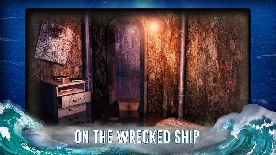 从船上逃生 - 神秘的冒险截图3