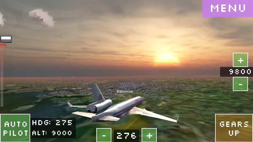 飞行世界模拟器截图1