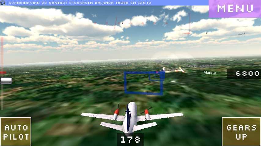 飞行世界模拟器截图4