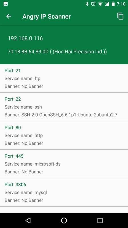 Angry IP Scanner截图0