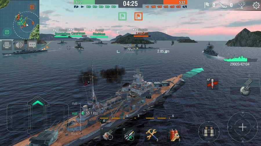 战舰世界闪电战截图3