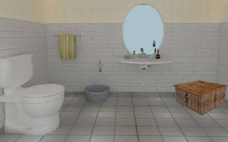 3D 逃脱游戏难题厨房