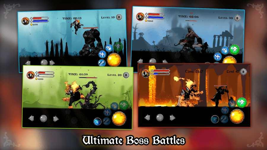 混沌骑士 - RPG 火柴人战士,暗影之战截图3