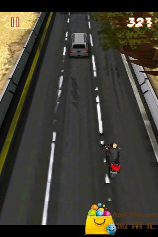 3D街头摩托竞速截图1