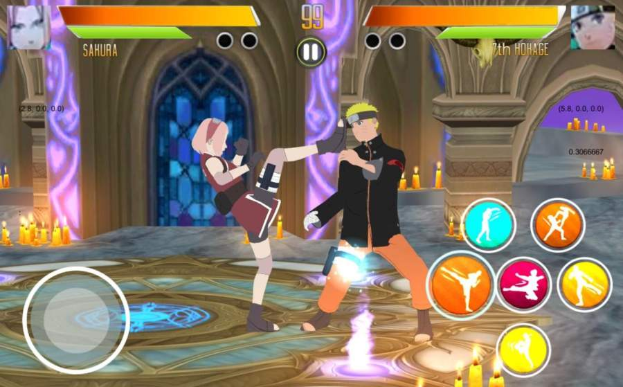 BORUTIMATE : Ultimate Ninja Fighting截图1