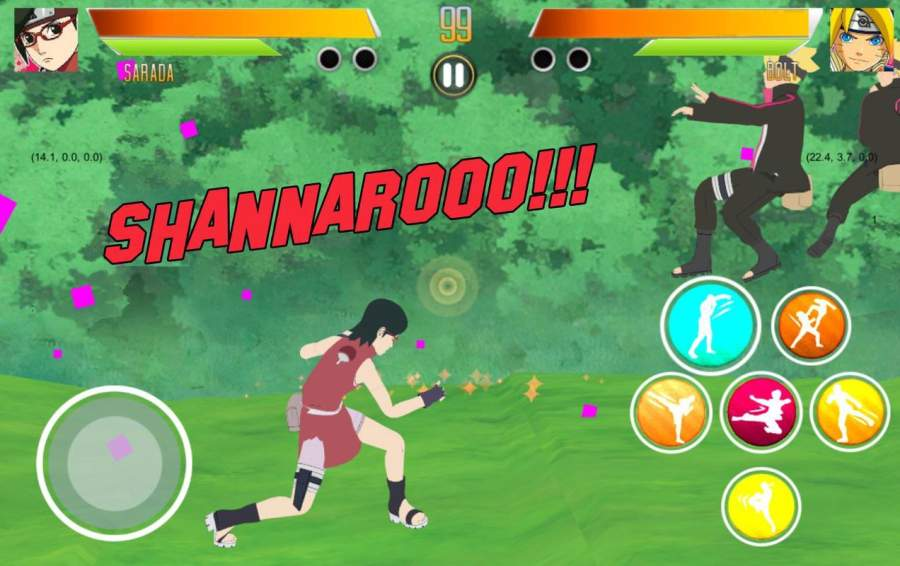 BORUTIMATE : Ultimate Ninja Fighting截图10