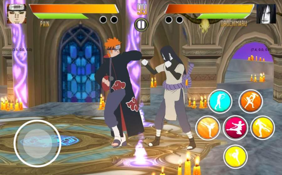 BORUTIMATE : Ultimate Ninja Fighting截图3