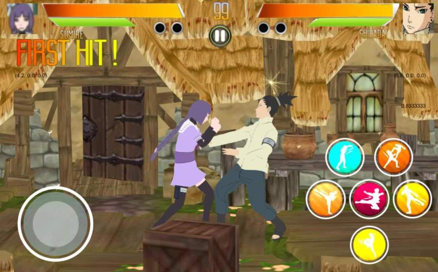 BORUTIMATE : Ultimate Ninja Fighting截图4