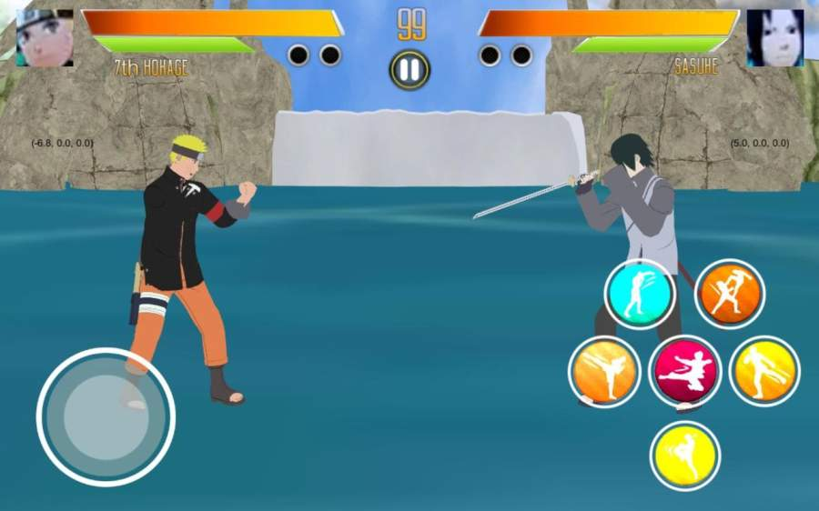 BORUTIMATE : Ultimate Ninja Fighting截图5