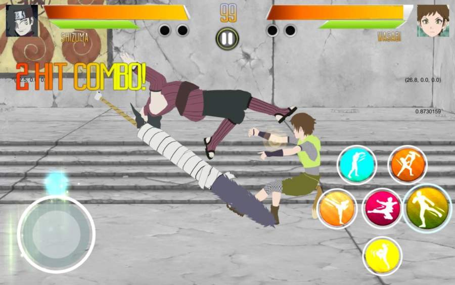 BORUTIMATE : Ultimate Ninja Fighting截图6