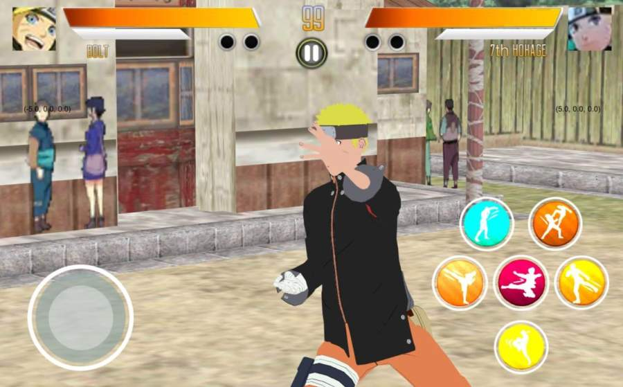 BORUTIMATE : Ultimate Ninja Fighting截图8