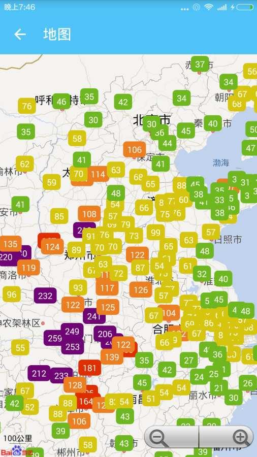 全国天气空气质量截图3