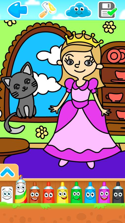 小公主画画世界截图3