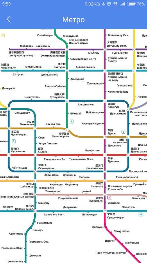 坐地铁游北京