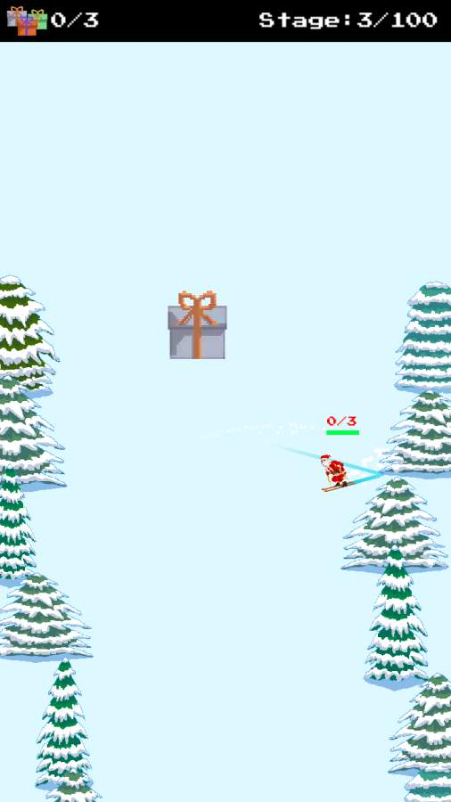 圣诞老人和僵尸的滑雪大战截图3