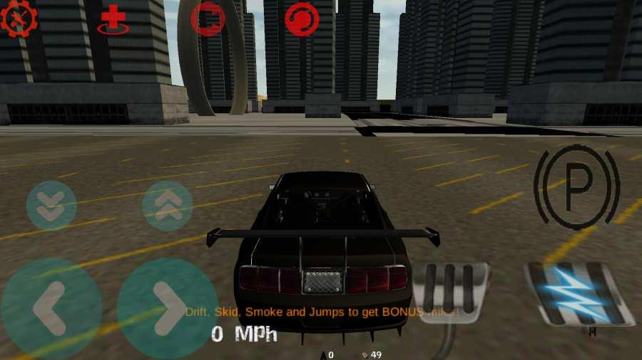 汽车漂移3D模拟