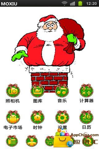 圣诞老人桌面主题-魔秀