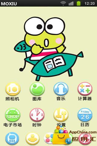 玩工具App|青蛙王子桌面主题—魔秀免費|APP試玩