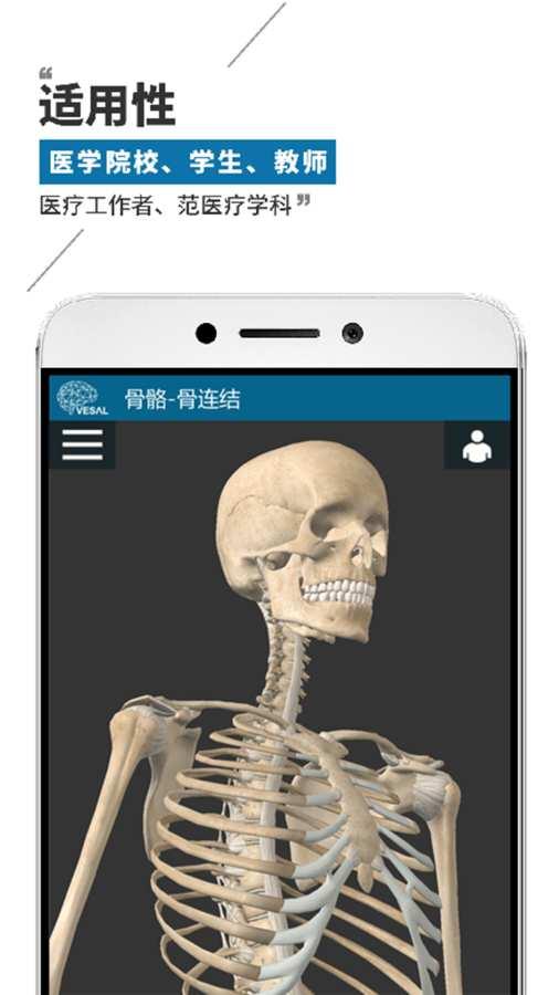 维萨里3D解剖截图4