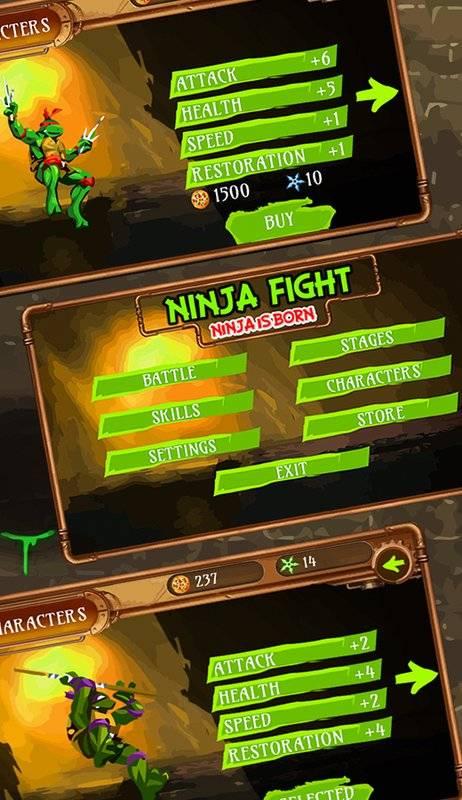 Ninja Fight - Ninja is Born截图1