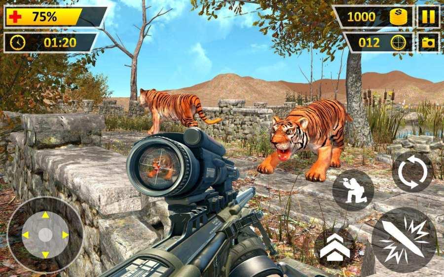 愤怒 狮子 丛林 狩猎截图1