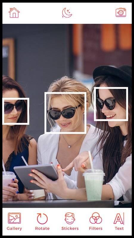DSLR Camera - Sticker, Beauty Photo, Selfie Camera截图0
