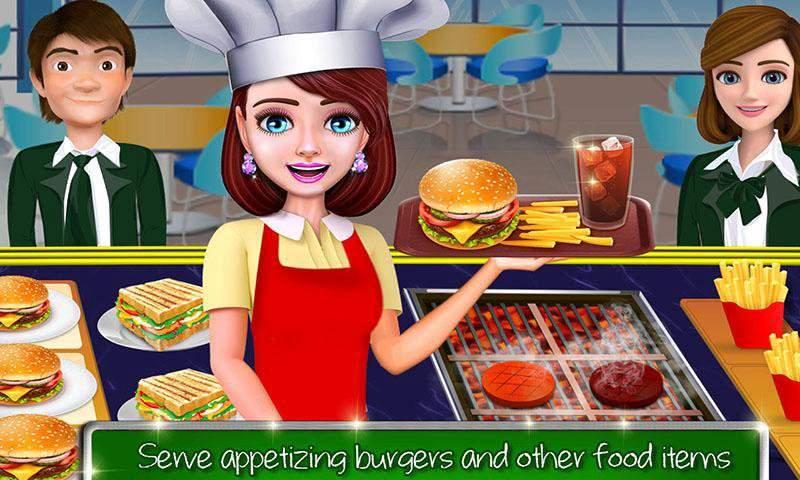 高中女生的咖啡馆:汉堡烹饪比赛截图7