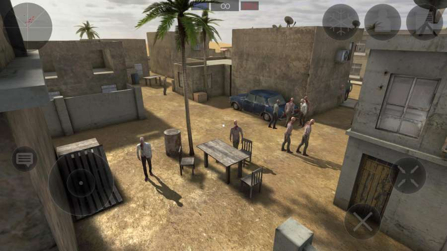 僵尸作战模拟截图1