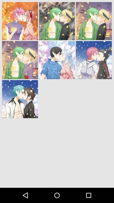 Avatar Factory: Kissing Couple截图1
