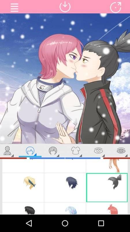Avatar Factory: Kissing Couple截图5