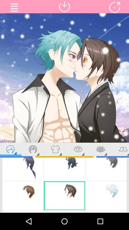 Avatar Factory: Kissing Couple截图6