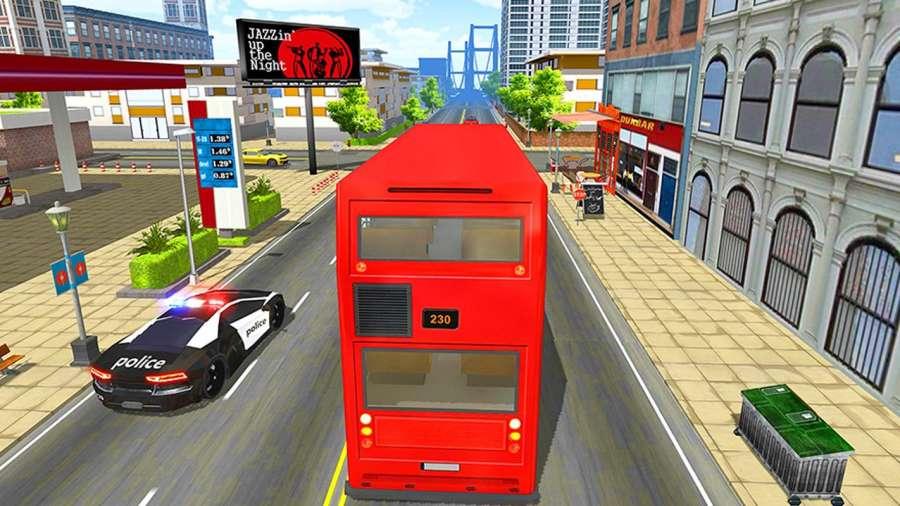 巴士模拟器2018年:城市驾驶截图1
