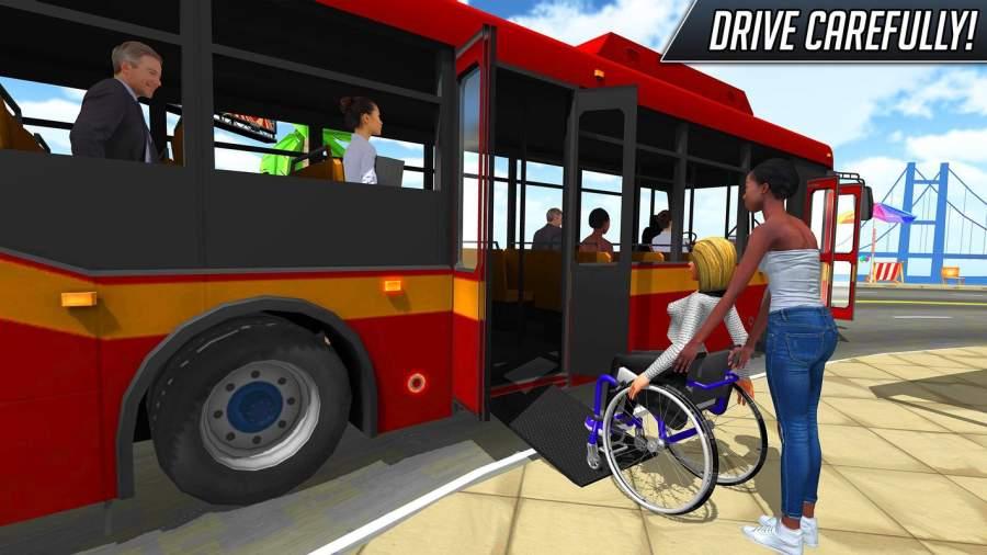 巴士模拟器2018年:城市驾驶截图4