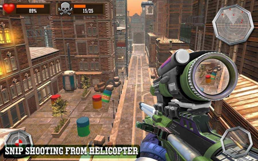 Sniper Helicopter War 2018: Free Sniper Games- FPS