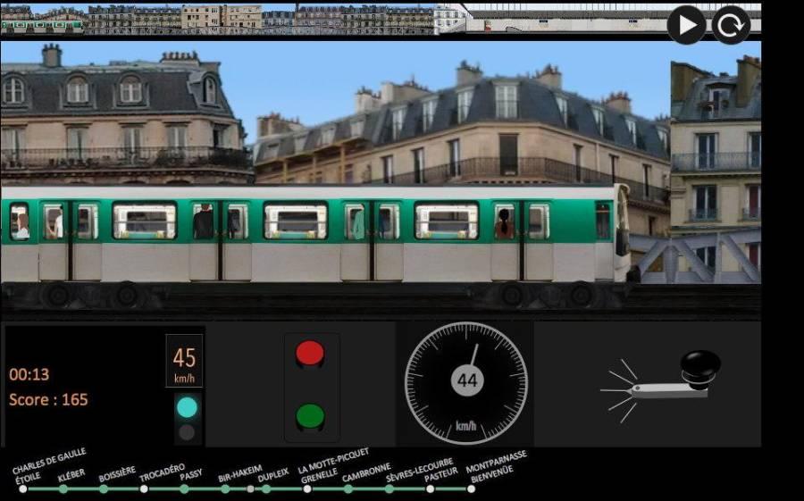 巴黎地铁 模拟器截图0