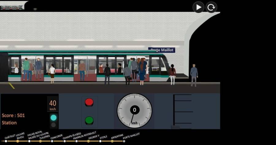 巴黎地铁 模拟器截图1