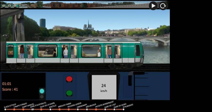 巴黎地铁 模拟器截图2