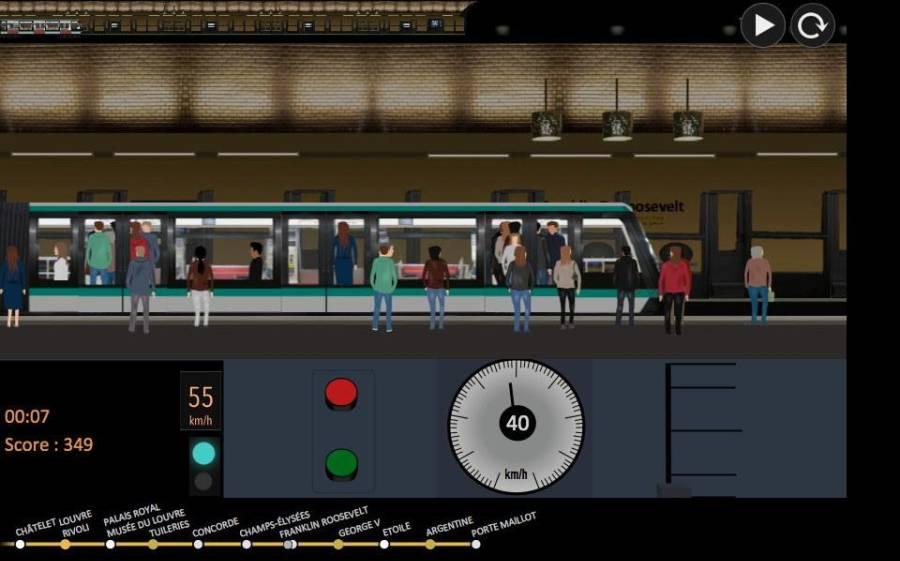 巴黎地铁 模拟器截图3