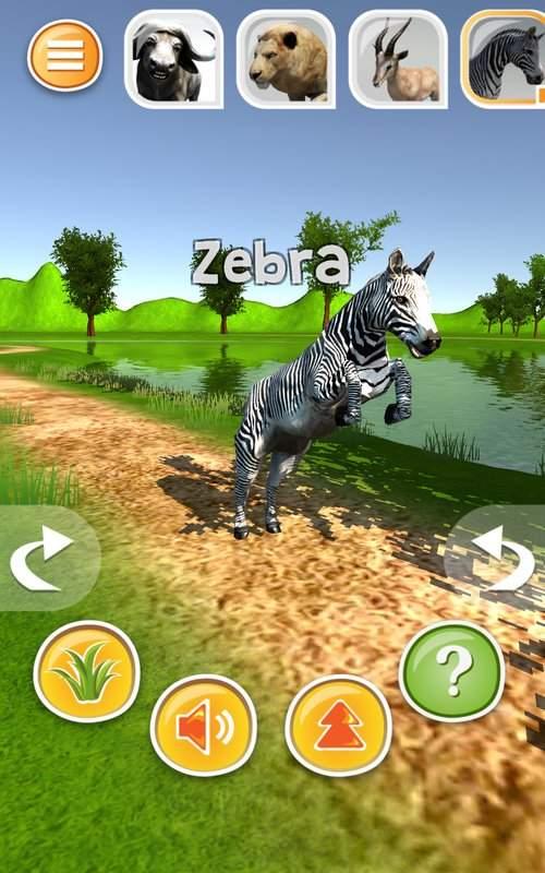 动物模拟器3D  - 狮子等截图0