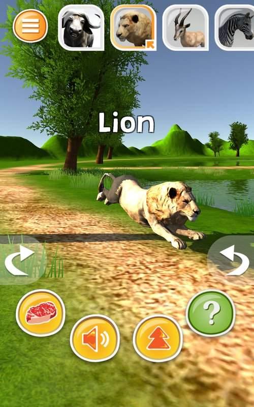 动物模拟器3D  - 狮子等截图10