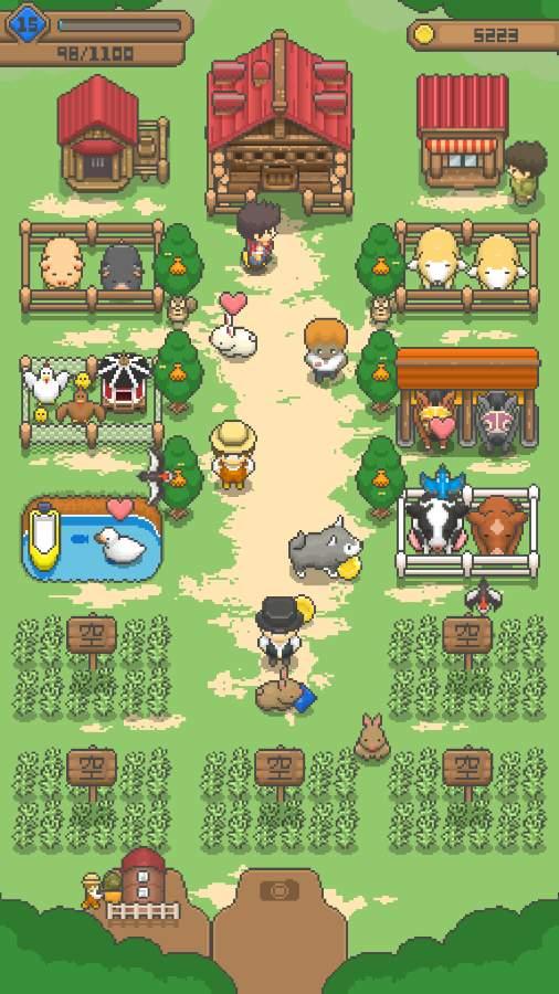 小小像素农场截图3