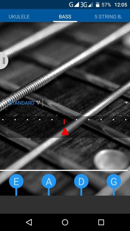 吉他低音尤克里里琴调谐器截图1