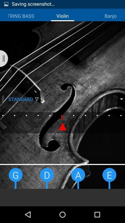 吉他低音尤克里里琴调谐器截图2