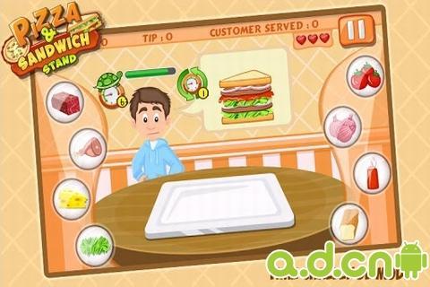 比萨&三明治烹饪站截图1