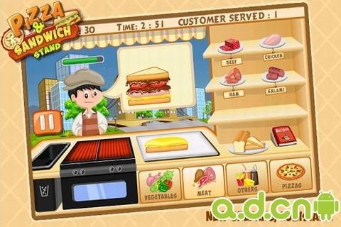 比萨&三明治烹饪站截图4
