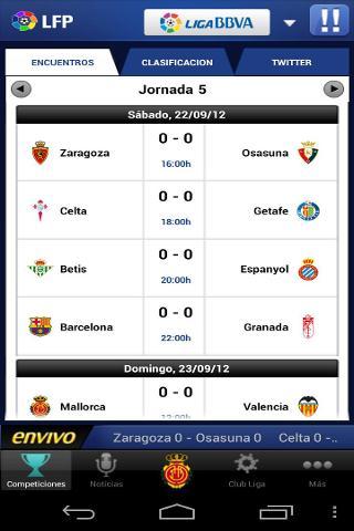 Liga de Futbol Profesional截图1
