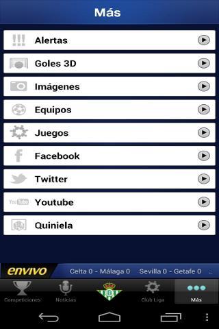 Liga de Futbol Profesional截图2