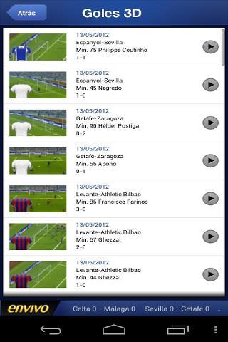 Liga de Futbol Profesional截图3