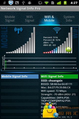 网络信号信息截图0