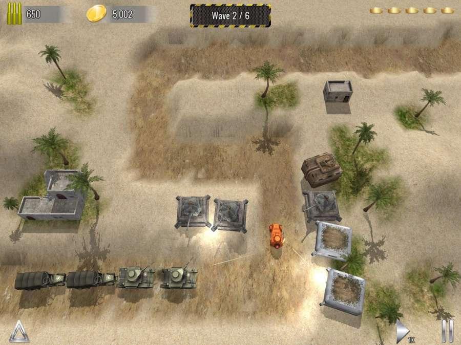 塔防帝国 - 二战坦克塔防单机游戏截图3
